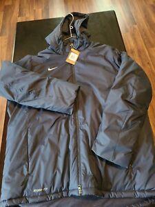 Nike Storm Fit Men's Navy 2XL Coat With Hood