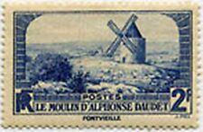 "FRANCE STAMP TIMBRE N° 311 "" LE MOULIN D' ALPHONSE DAUDET , 2 F "" NEUF xxTTB"