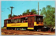 Huntington Standard  Orange Empire Trolley Museum in Perris, California Postcard