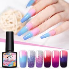 Mad Muñeca térmica 3-capas UV Gel Nail Polish Soak Off Gel Que Cambia De Color Barniz