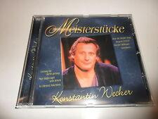 CD  Konstantin Wecker - Meisterstücke