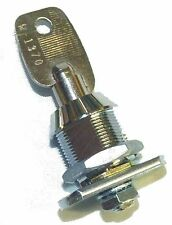 New High Security Lock and Key For Coin Mechanisms Coin Boxes & Other Equipment