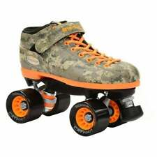 New listing Riedell R3 Camo Speed Roller Skates 2015