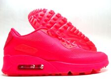 NIKE AIR MAX 90 ID (GS) SOLAR RED SIZE 6Y/WOMEN'S 7.5 [822641-981]