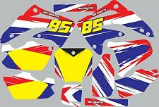 Graphic Kit for 2003-2012 Honda CR85 CR 85 shrouds fender plastic decals