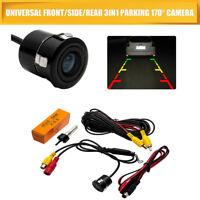 170° CMOS Reverse Camera Waterproof Car Rear View Backup Parking Night Vision HD