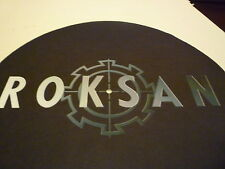 "ROKSAN Audiophile HQ  7"" or 12""  Turntable / Platter MAT NEW"
