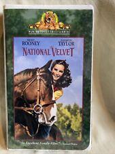 National Velvet VHS video tape Mickey Rooney Elizabeth Taylor 1944
