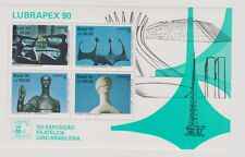 Brasilien Briefmarken Block zu LUBRAPEX 90 postfrisch