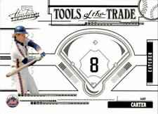 Gary Carter 2005 Playoff Absolute Tools of the Trade #TT-57 39/100 New York Mets