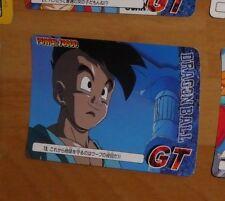 DRAGON BALL GT Z DBZ POWER BATTLE CARD JAPANESE CARTE 13 MADE IN JAPAN 1996