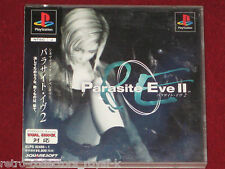 *Complete* PS1 Game PE PARASITE EVE II / 2 NTSC-J Japan Import PlayStation