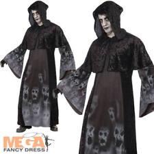 Âmes oublié Hommes Fancy Dress Halloween Effrayant Spooky morts-vivants adultes Costume