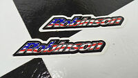 2-NOS Robinson Old School BMX Bike Freestyle Bicycle Decal STICKERS