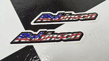 2 NOS RWB Robinson Old School BMX Bike Freestyle Bicycle Decal STICKERS