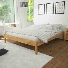 59444b2ce8 Solid Oak Bed Frame Super King Wooden 180x200cm Bedroom Furniture Natural  Colour