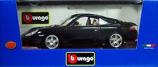 15 BURAGO PORSCHE 911 CARRERA 4 NOIRE ITALIAN DESIGN