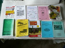 39 CLASSIC CAR / STEAM RALLY PROGRAMMES - BEDS - BUCKS - HERTS >PLSEASE SEE LIST
