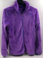 The North Face Youth Girls Purple Fleece Jacket Sz 18 Girl's