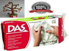 White Modelling Clay Air Art Craft Pottery Drying DAS Air-Dry Moist 1kg Sampling