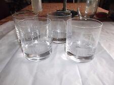 Set/4 Luigi Bormioli Classico Crystal Double Old Fashioned Glasses, JAFFER