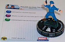 MAJOR GLENN TALBOT #102 The Incredible Hulk HeroClix OP LE