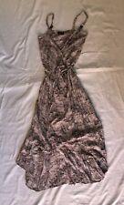 Lolitta Size 8 Wrap Summer Leopard Print Cocktail Dress Formal Womens Vintage