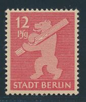 SBZ 1945, Mi. 5 AA wa x **, seltene Gummivariante gepr. BPP!! Tadellos!! Mi. 190