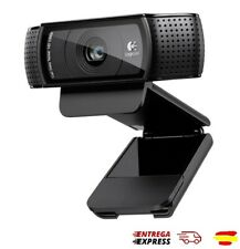 CAMARA WEB LOGITECH HD PRO C920 WEBCAM FULL HD - 1080P - CLIP UNIVERSAL