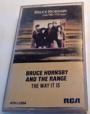 BRUCE HORNSBY AND THE RANGE Tape Cassette THE WAY IT IS 1986 RCA Records Canada