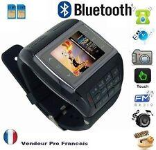 Montre Téléphone Ecran Tactile Camera Débloqué Bluetooth MP3 FM Dual SIM VE77