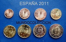 EUROS ESPAÑA 2011 Serie completa S/C - SPAIN EURO SET