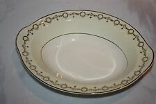 Taylor Smith Wreath Pattern Gold Rimmed Oval Serving Dish - Replacement Piece