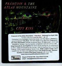 (DA390) Francois & The Atlas Mountains, City Kiss - 2012 DJ CD