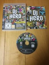 DJ Hero for SONY PS3 PAL, boxed complete with manual, VGC