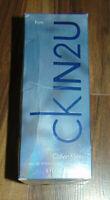 CALVIN KLEIN CK IN2U CKIN2U HIM 150ML EAU DE TOILETTE SPRAY BRAND NEW & SEALED