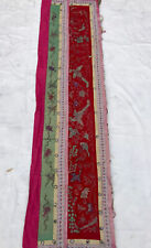 Antique Chinese Silk Embroidery Wall Hanging Tapestry panel