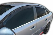 VAUXHALL VECTRA C mk2 HATCHBACK 2002-2008 wind deflectors 4pc set TINTED HEKO