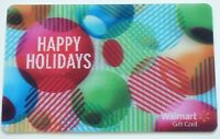 Walmart Gift Card - Lenticular / 3D - Happy Holidays / Christmas  - No Value