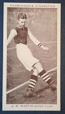 Aston Villa   Martin    Original  Vintage Footballer Photo Card  VGC