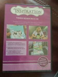 Crafter's Inspiration Video Resource PC CD-ROM ~ Crafters Companion 3.5 Hours