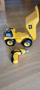 CAT Construction Toy Dumper Truck Take Apart And Rebuild