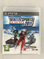 PS3 Winter Sports 2011 Go For Gold, Brand New & Factory Sealed