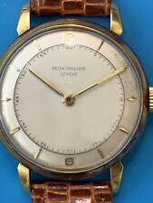 Patek Philippe Real Vintage From The 60's In Yellow Gold Ref 2482 ( 447)