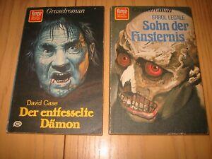 3 x Vampir Horror-Roman - Gruselroman
