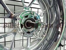 Kawasaki ZX14 Chrome Rear Rotor Block Off 240, 300, 330 360 Kit(062414-003A)