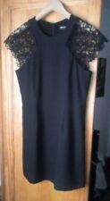 MANGO : Vestido Corto Hermoso Negro (M) Como Nuevo