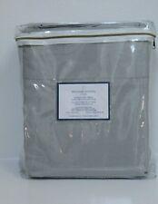 New Williams Sonoma Gray Signature Belgin Linen Collection Cal King Sheet Set 4p