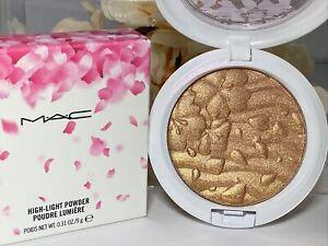 MAC Spring Bling High-Light Highlighter Powder Boom Bloom Bronzer FS NIB FreeSh