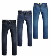 Levi´s Herren Straight Jeans 501 Original Fit
